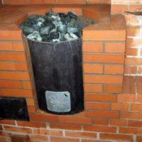 Банная печь Металлург