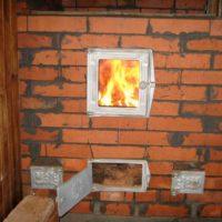 Отопительно - варочная печь с котлом Тамбов