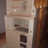 Отопительно - варочная печь Пенсионер