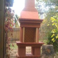 Камин садовый Телефонист