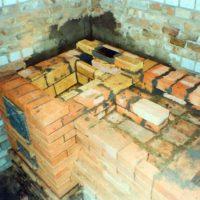 Отопительно - варочная печь Ожога