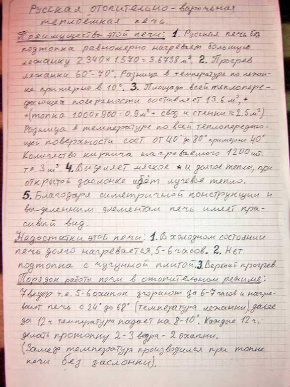 Русская печь Липецк