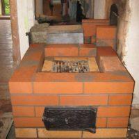 Отопительно-варочная печь Ситовка